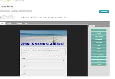 Plataforma y formularios